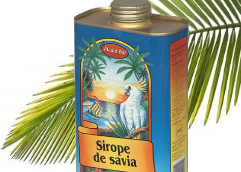 Sirope de Savia con hoja de Palma
